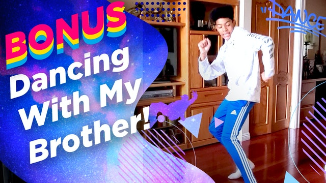 Rahja Fuller: Dancing With My Brother!