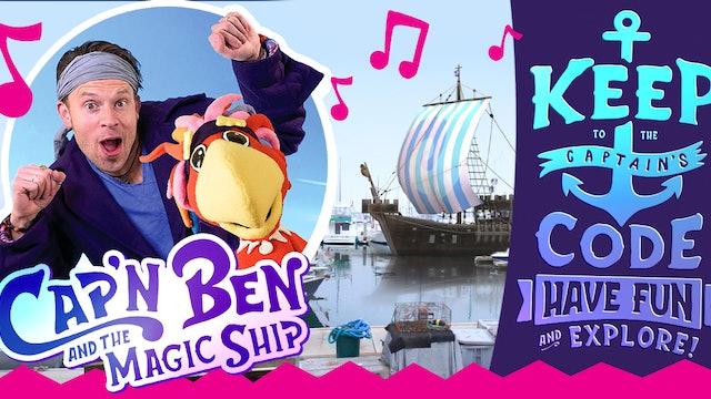 Cap'n Ben | Balloon Magic w Zach King