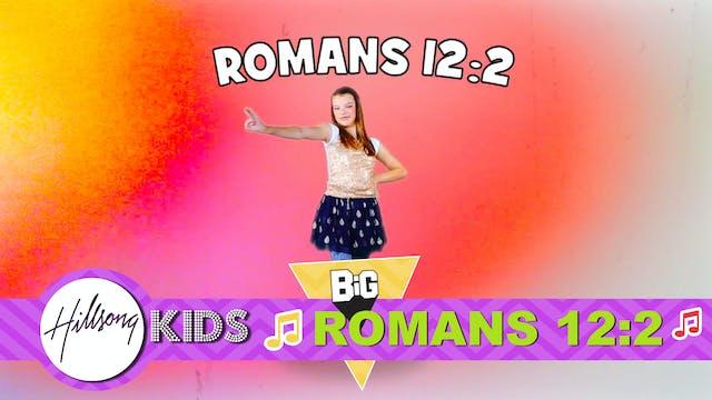 HEAD | Big Word Romans 12:2 (Actions ...