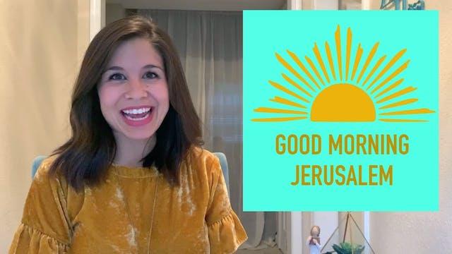 GOOD MORNING, JERUSALEM! - Palm Sunda...