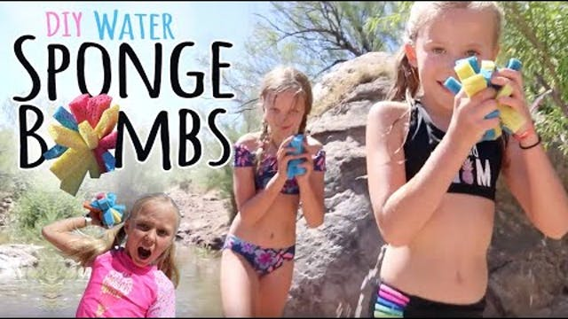 How to Make Water Sponge Bombs  |  Ca...