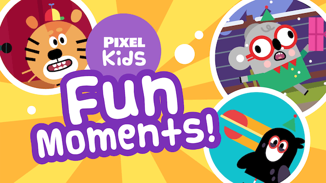 Pixel Kids | Fun Moments! | Boats, Tents, Sleighs & Buses