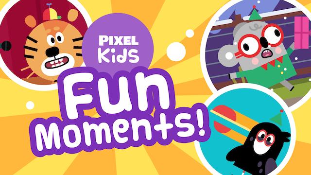Pixel Kids | Fun Moments! | Boats, Te...