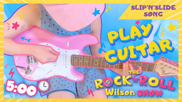 Learn to Play Slip'n'Slide - Guitar