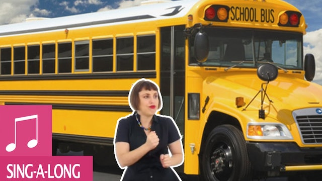 The Wheels on the Bus go round and round! - Kids Song - Alina Celeste