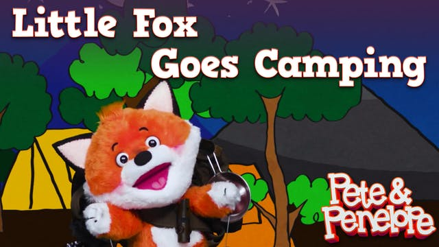Little Fox Goes Camping
