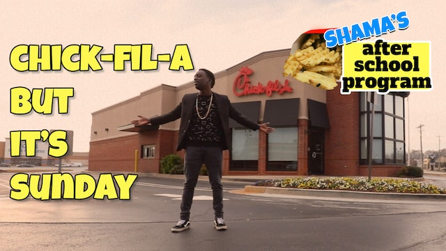 Chick-fil-A (But It's Sunday)
