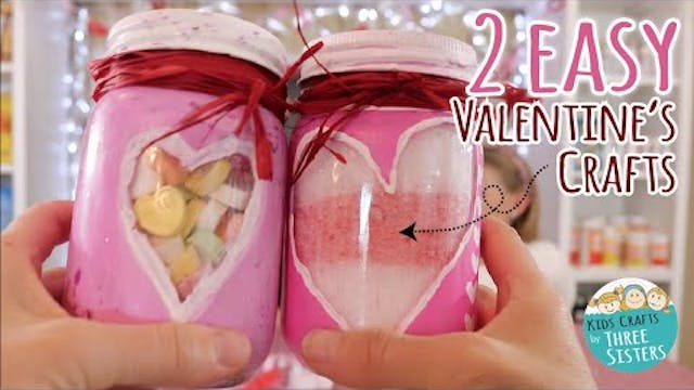 2 Easy DIY Valentine's Day Craft Idea...