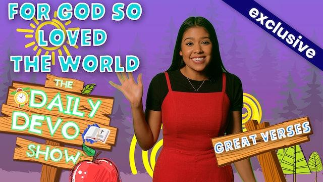 #136 - For God So Loved The World