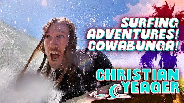 Surfing Adventures! Cowabunga!