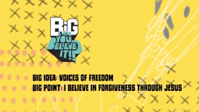 CAN YOU BELIEVE IT?!  | Big Message Toddler Episode 2.3 | Voices of Freedom