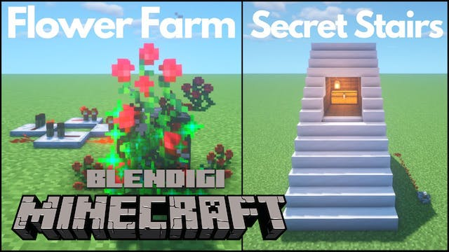 3 Simple Redstone Builds #9