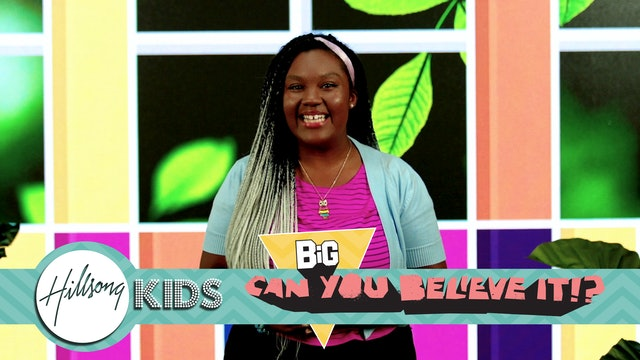 CAN YOU BELIEVE IT?!  | Big Message Preschool Episode 2.2| What A Beautiful Name