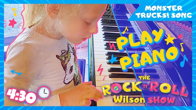 Learn to Play Monster Trucks - Piano