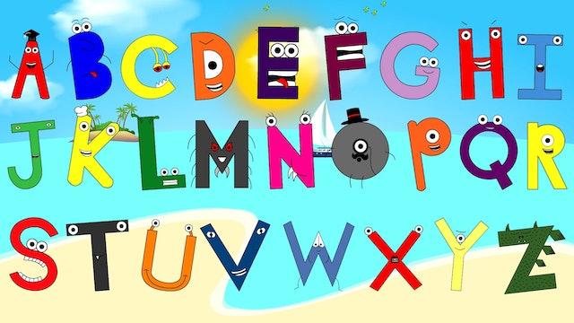 ABC Alphabet Song / Soft Acoustic Children's ABC Song