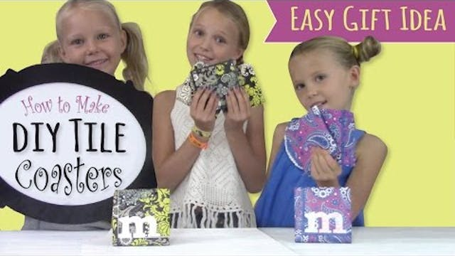 How to Make Tile Coasters | Paper Nap...