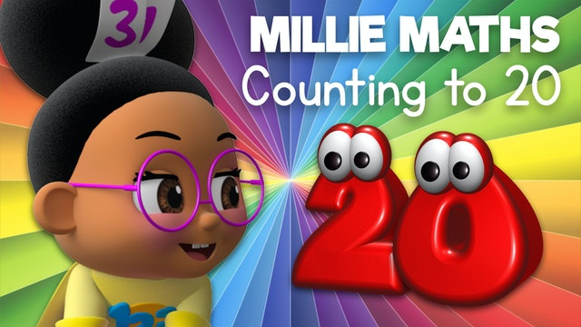 Learn to Count to 20 with Millie Maths