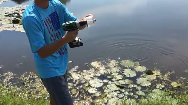 Fishing with a Power Drill