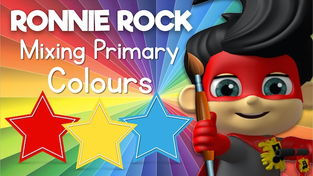 Learn to Mix Primary Colors with Ronnie Rock