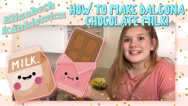 How to Make Dalgona Chocolate Milk!