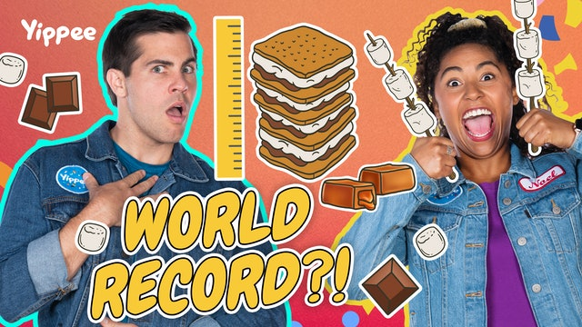 WORLD'S TALLEST S'MORE EVER?!