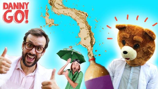 Mentos + Diet Coke EXPLOSIONS