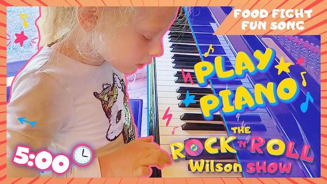 Learn to Play Food Fight Fun - Piano