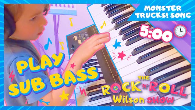 Learn to Play Monster Trucks - Sub Bass