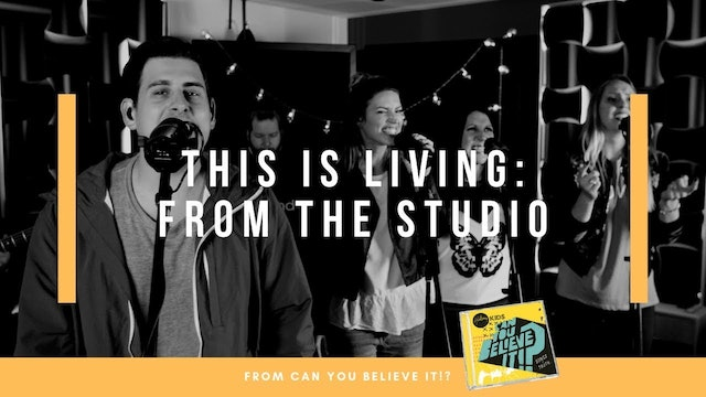 This Is Living | Hillsong Kids Live from Studio (Music Video)