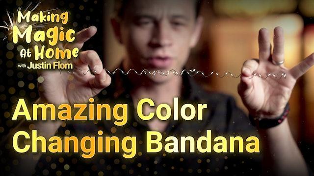 Amazing Color Changing Bandana