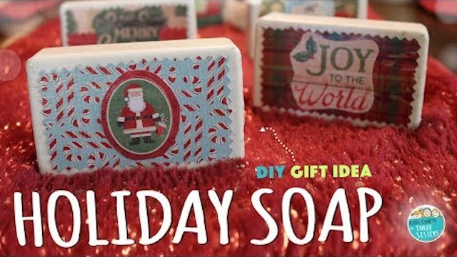 Easy Holiday Soap Gift Kids Can Make | Kids Craft  | Handmade Gift
