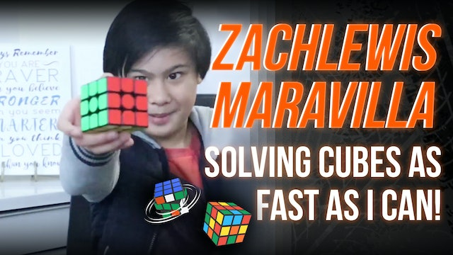 Solving Cubes As Fast As I Can!