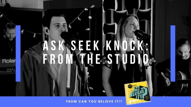 Ask Seek Knock | Hillsong Kids Live from Studio (Music Video)