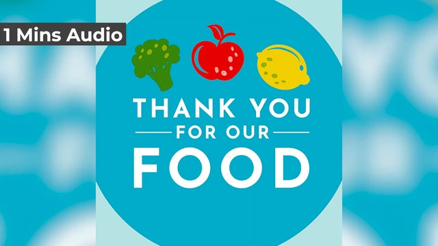 Thank You For Our Food (Audio)