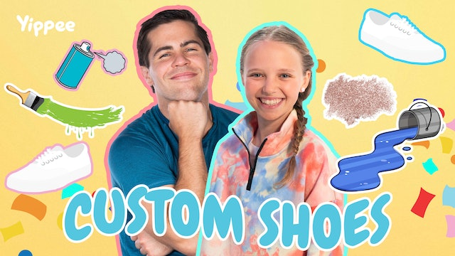 CUSTOMIZE YOUR KICKS! with Christian Yeager and Riley Rose