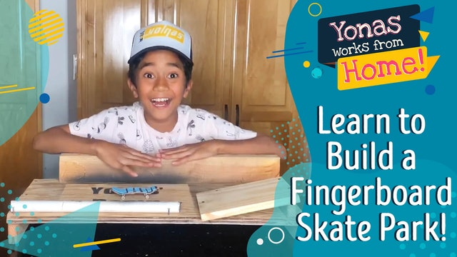 Learn to Build A Fingerboard Skate Park!