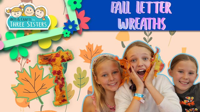 Fall Letter Wreaths