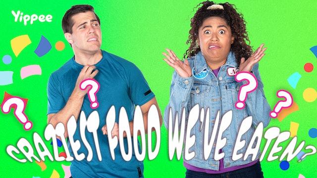 Yippee-lympics: Craziest Food We've EVER eaten!