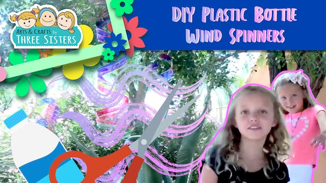 How to Make Plastic Bottle Wind Spinn...