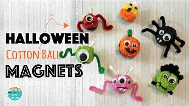 Easy Spider & Pumpkin Magnets using C...