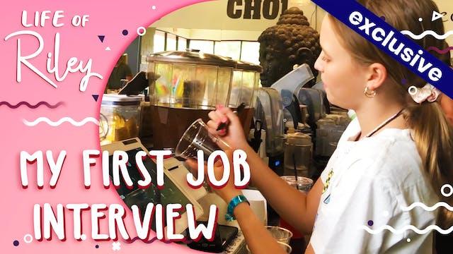 My First Job Interview