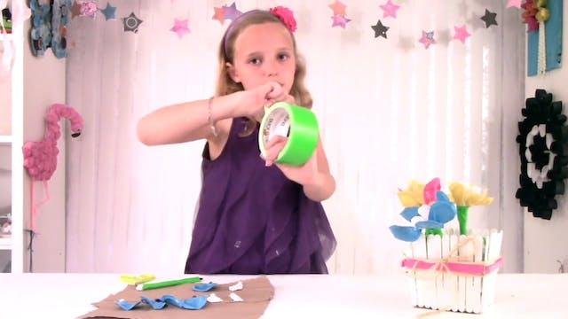 How to Make Duck Tape Flower Pens | D...
