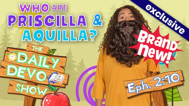 #44 Who is That?! - Who are Priscilla and Aquila?