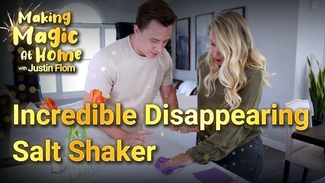 Incredible Disappearing Salt Shaker!