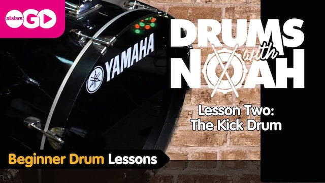 Drums With Noah | Lesson Two | The Ki...