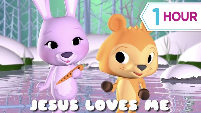 Jesus Loves Me + 1 hour of kids music