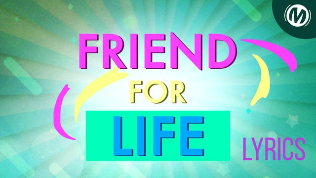 Lyrics Video | 06 | Friend for life