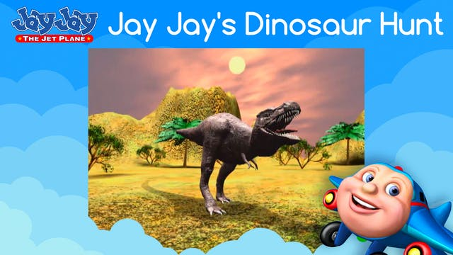 Jay Jay's Dinosaur Hunt