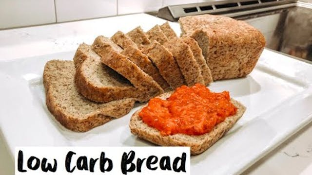 How to make Low Carb Bread that taste...