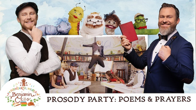Episode 3 | The Prosody Party: Poems & Prayers